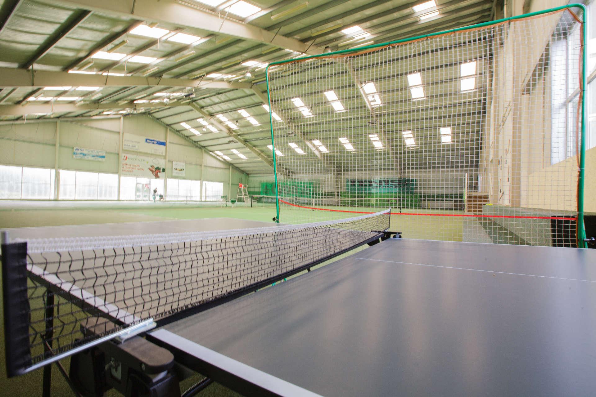 Pingpongový stůl – Pension Sport Poděbrady