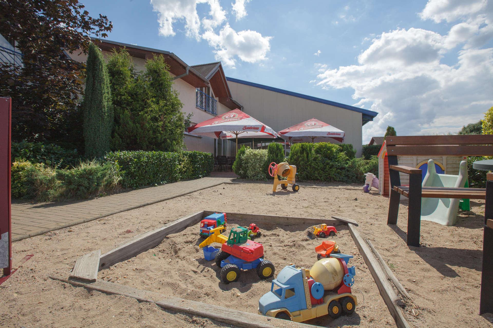 Dětské hřiště – Pension Sport Poděbrady