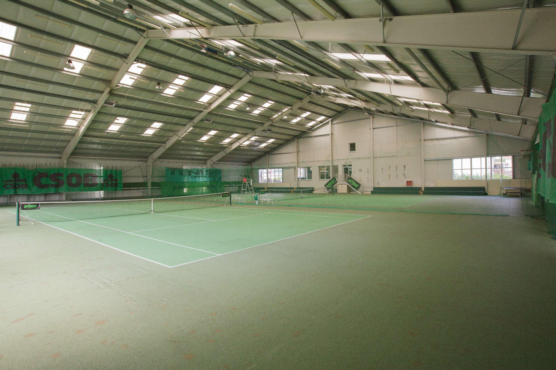 Kryté tenisové centrum – Pension Sport Poděbrady