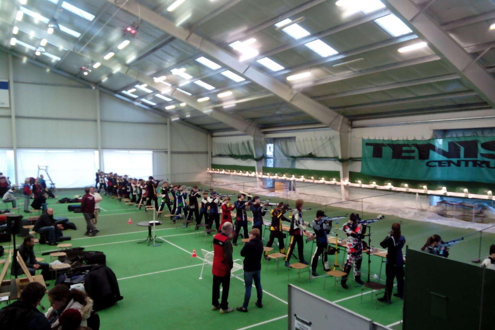 Společenská akce v tenisové hale – Pension Sport Poděbrady